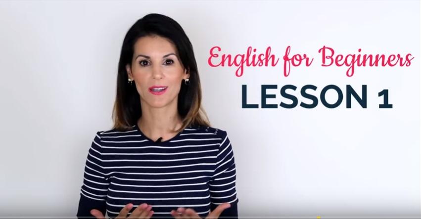 كورس تعلم اللغة الإنجليزية للمبتدئين