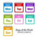 أيام الأسبوع
